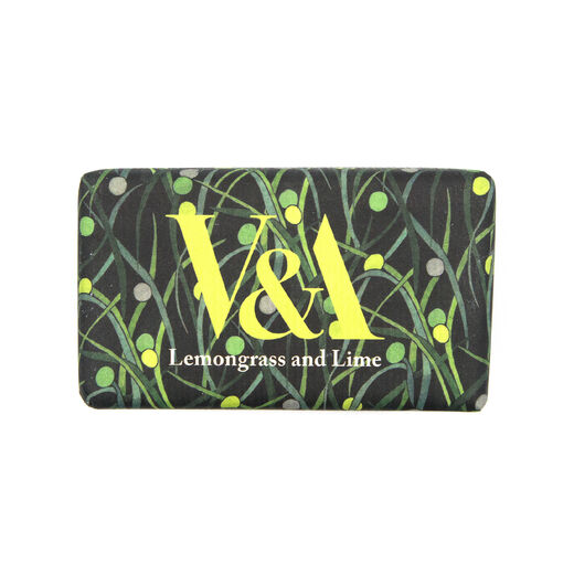 V&A Lemongrass and lime soap