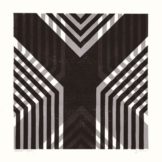 Y by James Brown (Alphabet Lino Print)