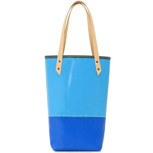 Assorted two-tone bucket bag