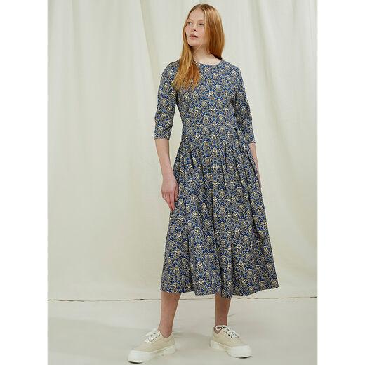 V&A Millefleur midi dress