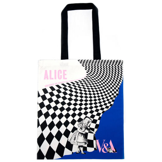 Alice: Curiouser and Curiouser exhibition tote bag