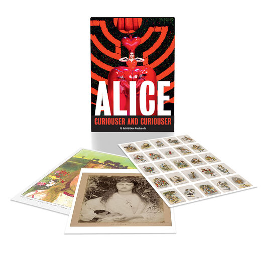 Alice: Curiouser and Curiouser postcard pack