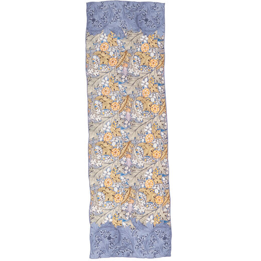 C.F.A. Voysey Thistles silk scarf