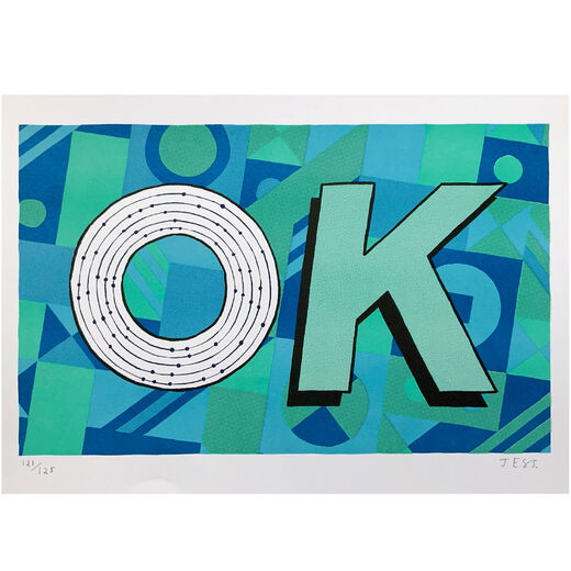 OK print - limited, second edition