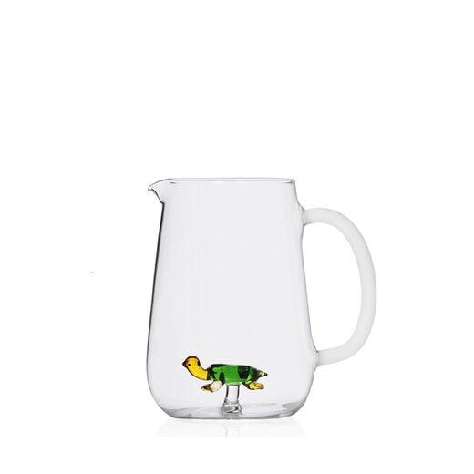 Turtle glass jug by Ichendorf Milano