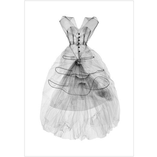Balenciaga Dress X-ray print by Nick Veasey