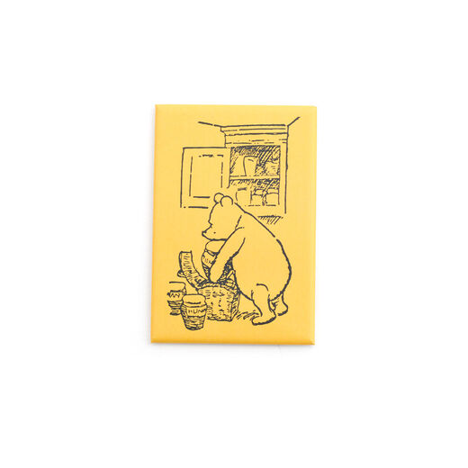 Yellow Winnie-the-Pooh magnet