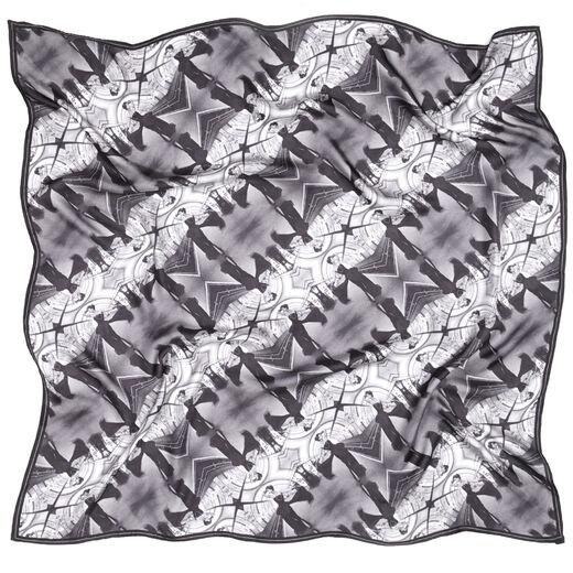 John French London underground scarf