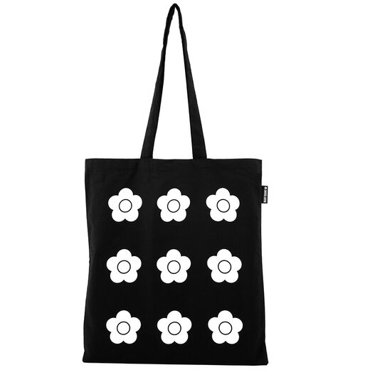 Mary Quant black tote bag