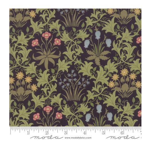 Celandine black fat quarter by Moda Fabrics