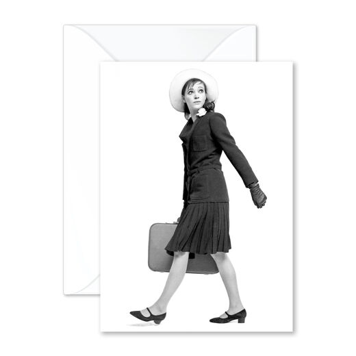 Suitcase greeting card