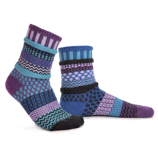 Recycled cotton ankle socks