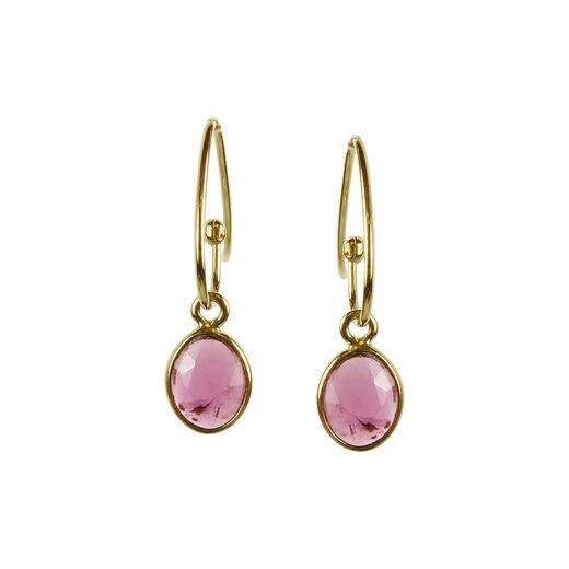 Tourmaline earrings by Mounir