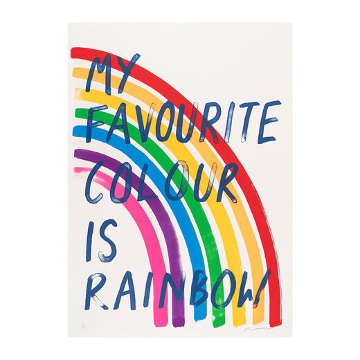 My Favourite Colour is Rainbow by Adam Bridgland