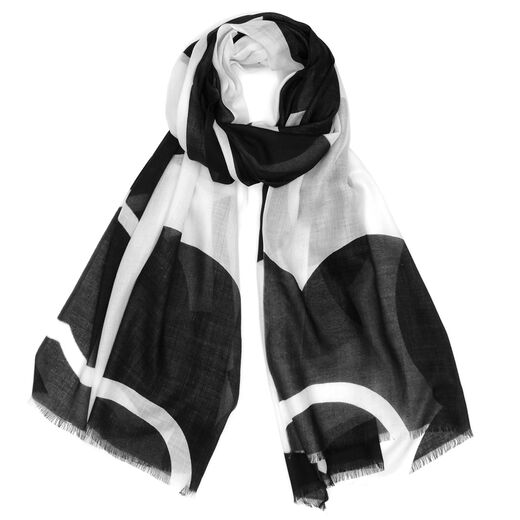 Mary Quant modal rectangle scarf