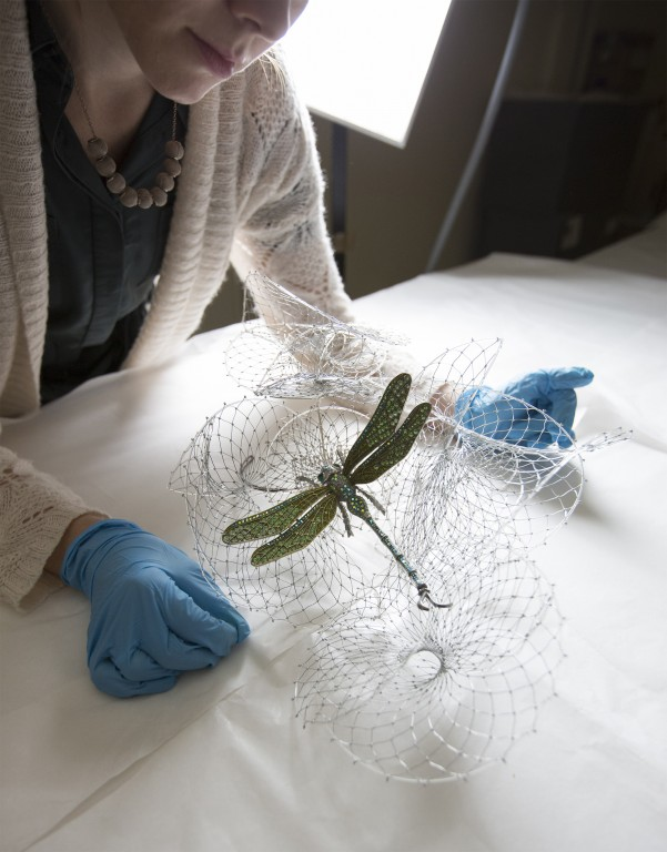 Image of In the V&A Conservation Studio