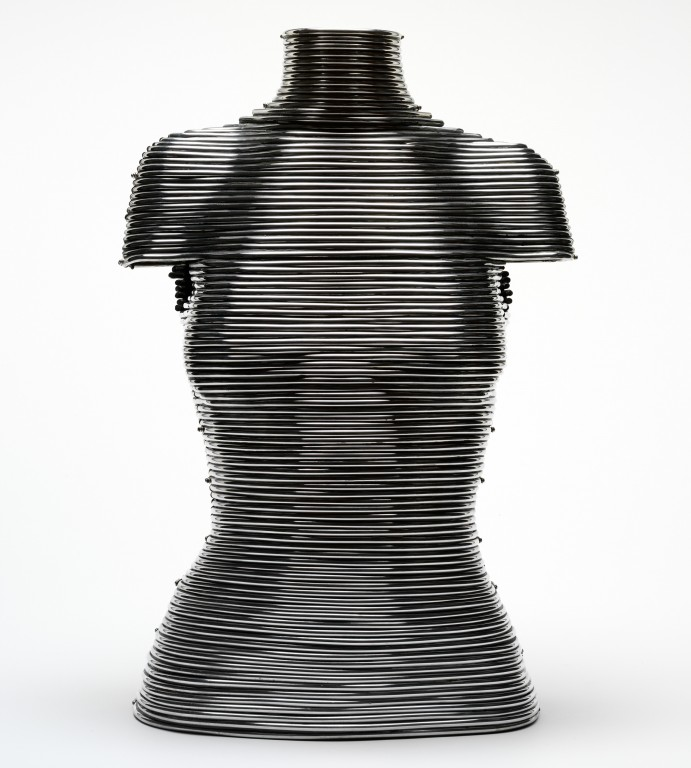 Image of 'Coiled' corset