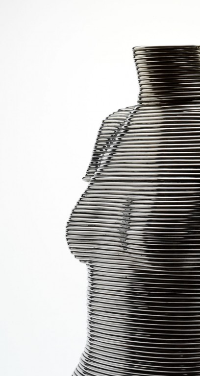 'Coiled' corset