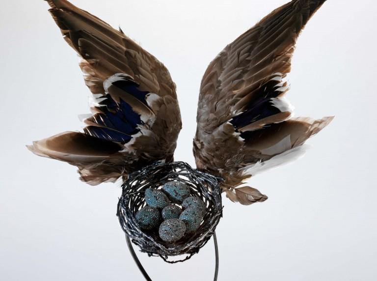 Image of 'Bird's Nest' headdress