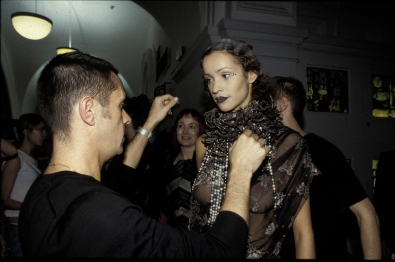 Image of Fashion in Motion: Shaun Leane and Alexander McQueen, October 2001