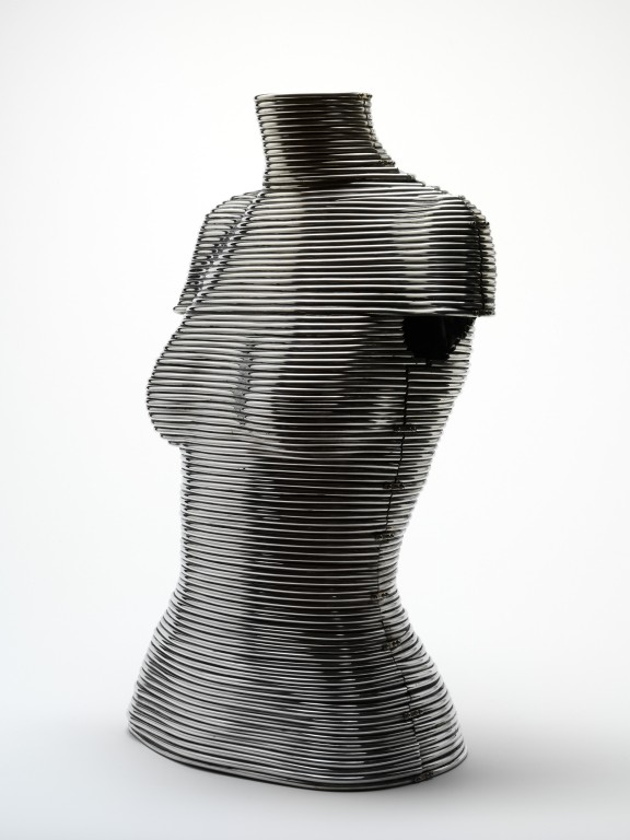Image of Alternative view: The 'Coiled' corset
