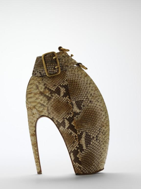Image of Python skin Armadillo boot