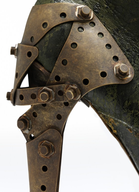 Image of Up close: The articulated heel of the 'Titanic' shoe