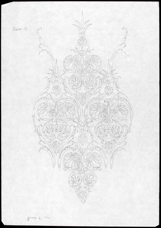 Image of Design sketch by Columbia Glassworks